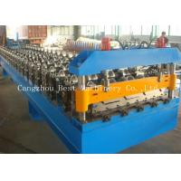 China Industrial High Cladding And Roofing Sheet Roll Forming Machine 70 Mm Shaft Dia wholesale