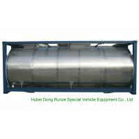 China 316 Stainless Steel ISO Tank Container 20 FT For Wine / Fruit Juices / Vegetable Oils wholesale