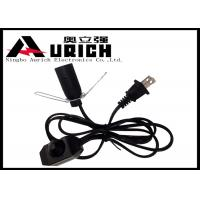 China Electrical Ul Approved Salt Lamp Power Cord With Dimmer Switch E12 Lamp Holder wholesale