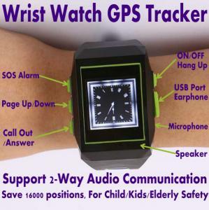 China GPS301 Child Kids Safety Watch Mobile Phone LBS GPS Tracker W/ SOS & 2-Way Communication wholesale