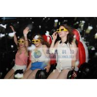 Quality 9 Seats 7D Simulator Cinema System Pneumatic Simulator Row Of 3 Ten Years for sale