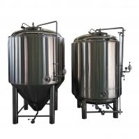 China 2000L Beer Fermentation Tanks , All Jacket Ss Brewtech Brite Tank wholesale