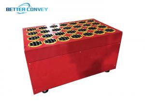 China 1200W L1030xW1280xH600 Steerable Diverter Swivel Wheel Sorter wholesale