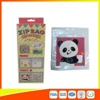 Quality HDPE Plastic Custom Printed Ziplock Bags / Resealable Personalized Packaging for sale