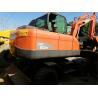 China Used Low Rate 6 Ton Doosan DX60 Wheel Excavator 0.3m3 Bucket CE / ISO9001 wholesale