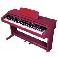 China Melamine Shell Red 88 Key Digital Piano , Electronic Keyboard Piano wholesale