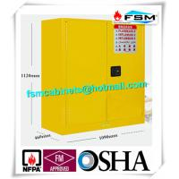 Quality Fire Proof Outdoor Chemical Storage Cabinets , Gas Cylinder Safety Cabinets for sale