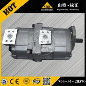 China Hot sale! Komatsu bulldozer D65EX-12 clutch and brake pump 705-51-20370, Komatsu bulldozer spare parts wholesale