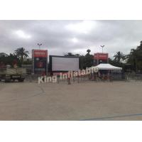 China PVC Tarpaulin Outdoor Inflatable Movie Screen With Airtight System on sale