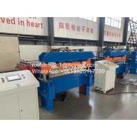 China High Efficiency Metal Plate Cutting Machine With PLC Control 25m/Min wholesale