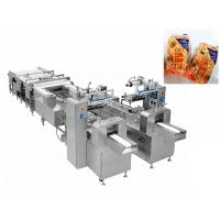China Automatic Bread Snack Food Production Line / Flow Wrapping Machine wholesale