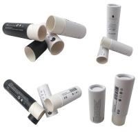 China Full Color Cosmetic Tube Packaging / Printed Paperboard Deodorant Tubes wholesale
