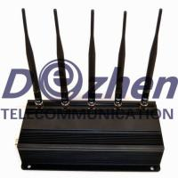 Universal Cell Phone Jammer Device Remote Controlled 20 Meters Radius