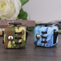 Buy cheap Stress Relief anti anxiety fidget cube Camouflage Color Series Fashionable from wholesalers