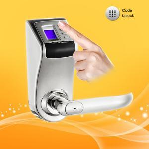 China Password and Fingerprint Door Lock  with Low voltage Warning Function wholesale