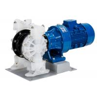 Buy cheap Pneumatic Electric diaphragm pump made of polypropylene double diaphragm inlet   outlet DN125 product
