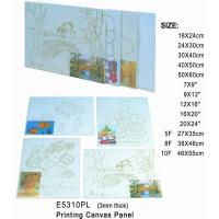 China 3mm Thick Print Stretched Canvas Art Painting Canvas Panel OEM Service Avaliable wholesale
