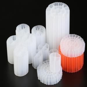 China Long Life 19 Holes K1 Filter Media Virgin HDPE Material Bio Balls For RAS And Wastewater wholesale