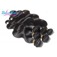 China 18 Inch Smooth Malaysian Body Wave Hair Bundles With Full Cuticles wholesale