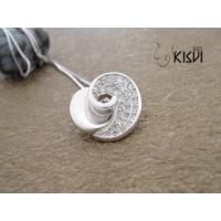 China Fashion Jewelry 925 Sterling Silver Gemstone Pendant with Zircon W-VB869 wholesale