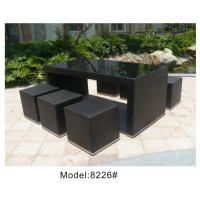 Quality Outdoor rattan wine bar set-8226 for sale