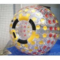 China Color Dots Human Hamster Balls Zorb Ball For Adults with One Entrance on sale