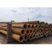 Grade 7 Seamless Carbon Steel Pipe , Thin Wall Steel Tubing Random / Fixed Length