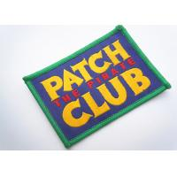 China Handmade Custom Clothing Patches Embroidered Brand Logo Patch wholesale