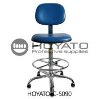 China 360 Degree Rotation ESD Task Chair , Ventilated Leather Comfortable Office Chair wholesale