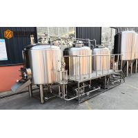 China 10HL Stainless Steel Beer Making Machine Semi Automatic Control With Jacket wholesale