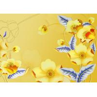 China High Quality Bamboo Fiber Wall Panels  Artistic Flowers Not Deformed, Easy to Clean wholesale