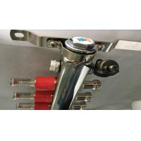 Quality Floor Single Zone Underfloor Heating Manifold 5 Ways With 2 Manual Drain Valve for sale