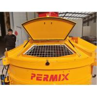 China 3000L Input Capacity Planetary Concrete Mixer Heavy Duty Orange Color PMC2000 wholesale