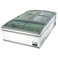 China Green & Health Supermarket Island Freezer With Sliding Glass Door For Frozen Food wholesale