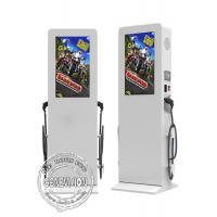 China Flat Screen Outdoor Digital Signage , 55 Inch TFT Touch Screen LCD Display wholesale
