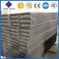 China Counter Flow Cooling Type PVC Material Cooling Tower Fill on sale