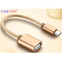 China USB To Type C Micro USB Data Transfer Cable , OTG Mobile Phone USB Cable wholesale