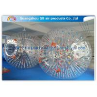 China Big Transparent Inflatable Bubble Ball /  Hamster Ball Popular Adults Soccer Sports wholesale