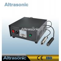China High Frequency 60Khz Cylinder Ultrasonic Plastic Welding Machine With CE Approved wholesale