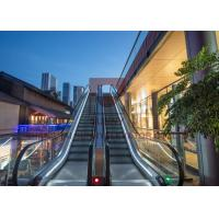 China Economical Safe Type Outdoor Elevator Escalator 600mm / 800mm / 1000Mm Step Width on sale