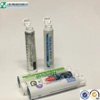 China Barrier Empty Toothpaste Tube Packaging / Pbl Plastic Laminated Tubes on sale