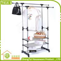 China New Design Portable Stainless Steel Clothes Three Tier Dryer Rack wholesale