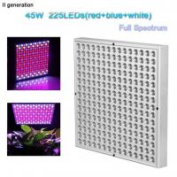 China Indoor Greenhouse Led Grow Lights Panel PC Cover With 10W Wattage wholesale