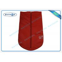 China Breathable Reusable Protective TNT Material Garment Storage Bags With Handle wholesale