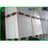 High Smoothness White Bond Paper Bulky Sheets 50 Gram 53 Gram For School NoteBook