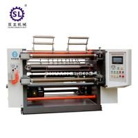Quality SL Plastic Film and Paper Slitting Equipment CE Certification for sale