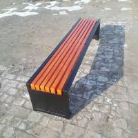 China Eco Forest Bamboo Park Bench Customized Size E0 Formaldehyde Standard wholesale