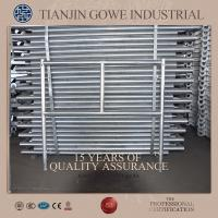 China Hot dipped galvanized all round scaffolding / quick erect scaffold on sale