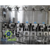 China Liquid CSD, cola, wine bottle carbonated  filling machines, water bottling machinery wholesale