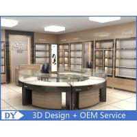 China Round Glasses Jewellery Shop Counter Design Manufacturers wholesale